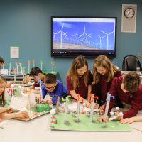 St Leo - Students design and build their own wind turbines